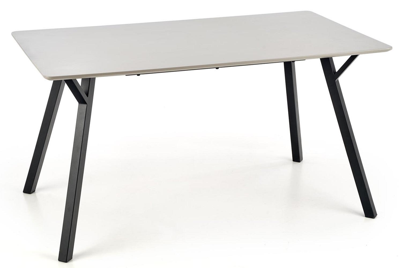 Eettafel Balrog 140 cm breed in grijs