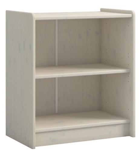 Boekenkast Kids 72 cm hoog in wit whitewash