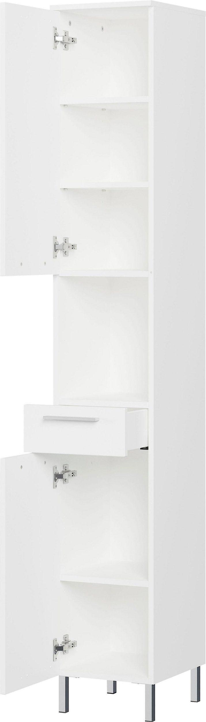 Badkamerkast Arvada 190 cm hoog in wit