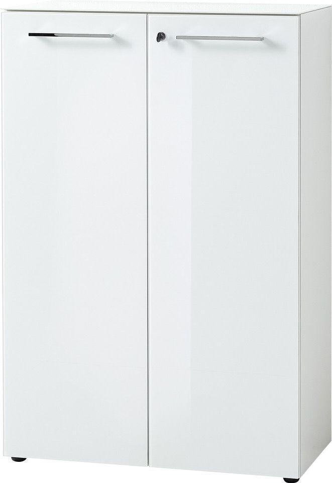 Archiefkast Monteria 120 cm hoog in wit