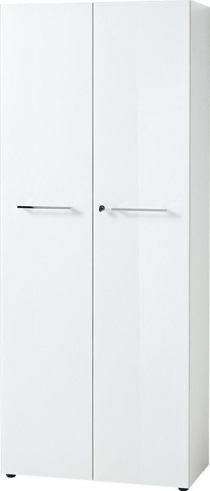 Archiefkast Monteria 197 cm hoog in wit