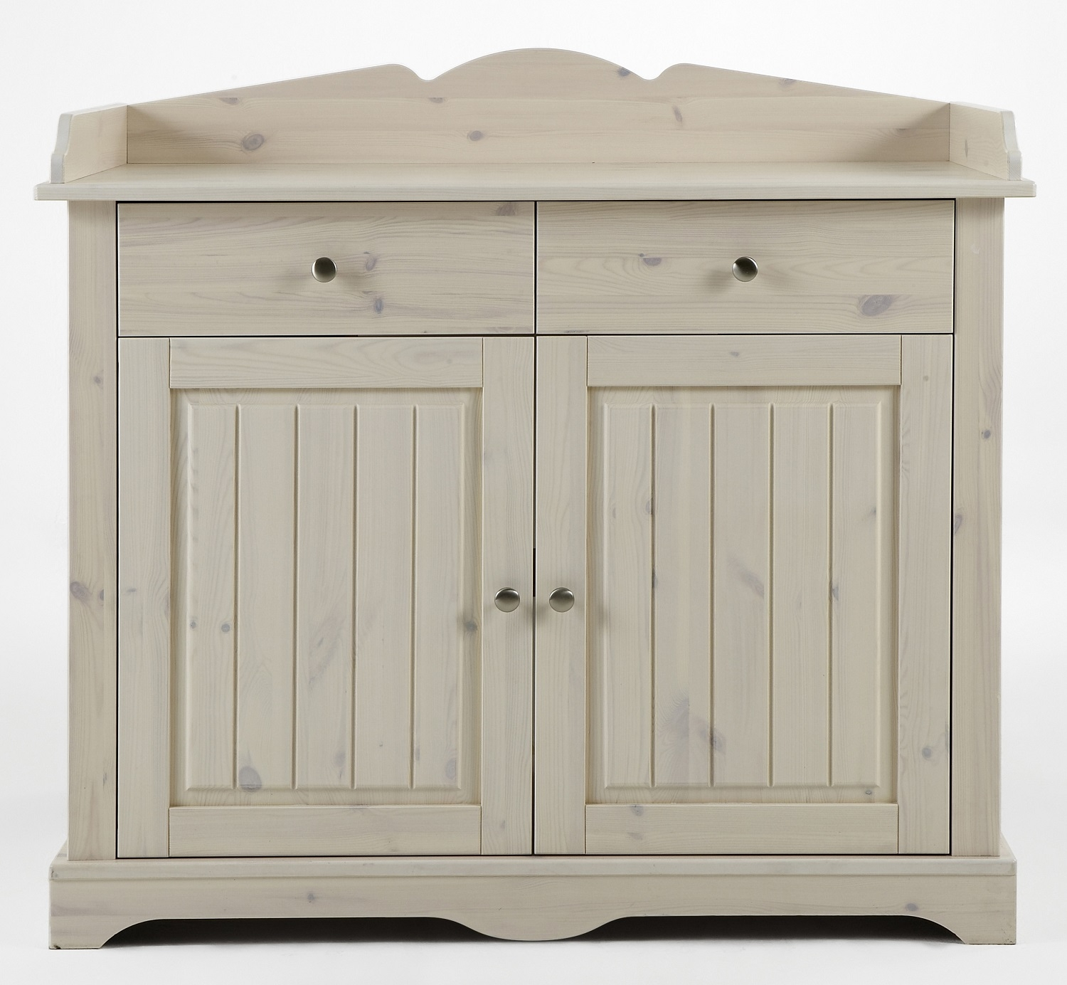 Baby commode Lotta 107 cm hoog in wit whitewash