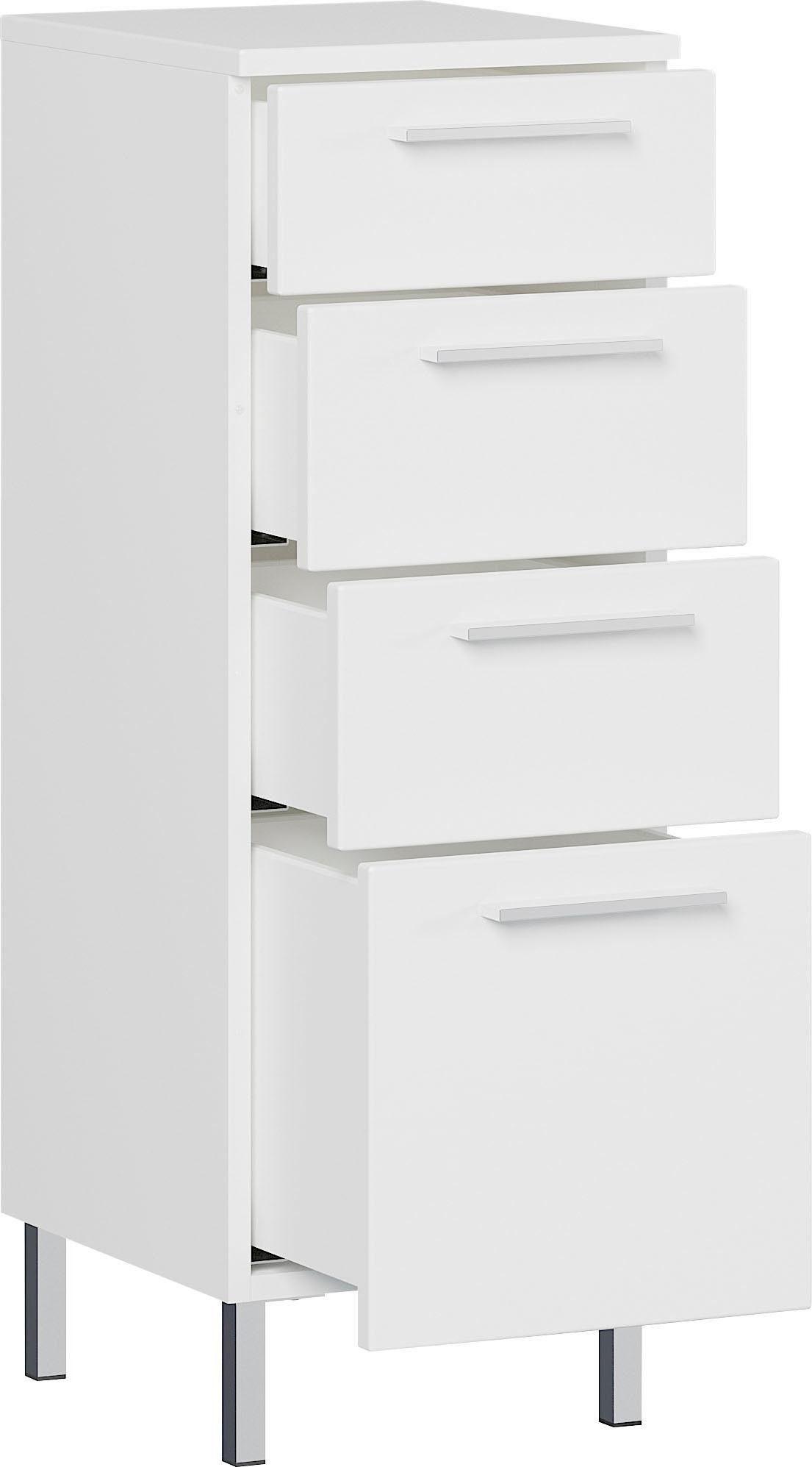 Badkamerkast Arvada 86 cm hoog in wit