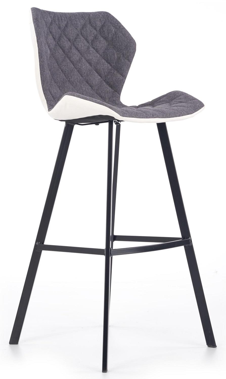 Barkruk Dorado 113 cm hoog in grijs