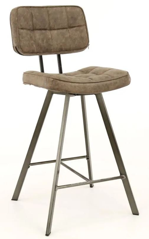Barstoel Ginger 98 cm hoog per 4x – Donkerbruin