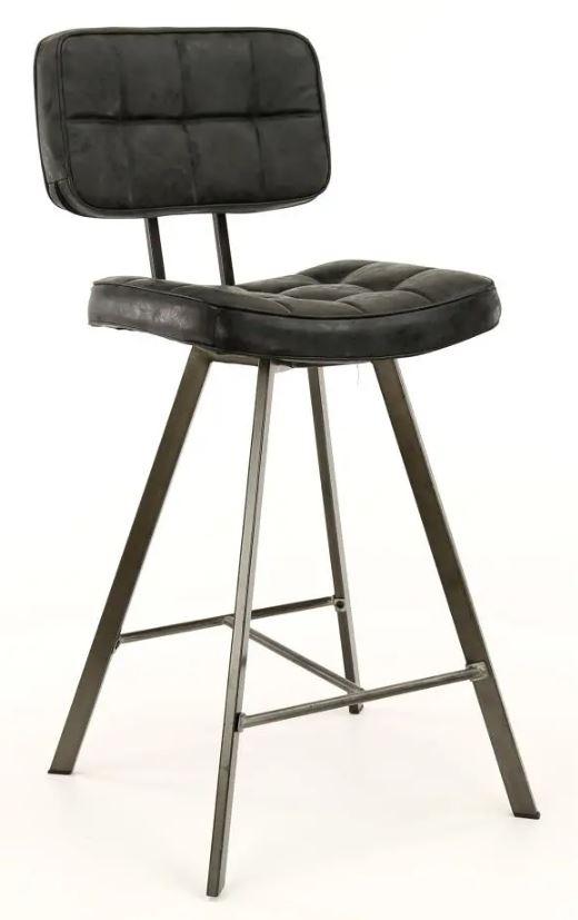 Barstoel Ginger 98 cm hoog per 4x Zwart