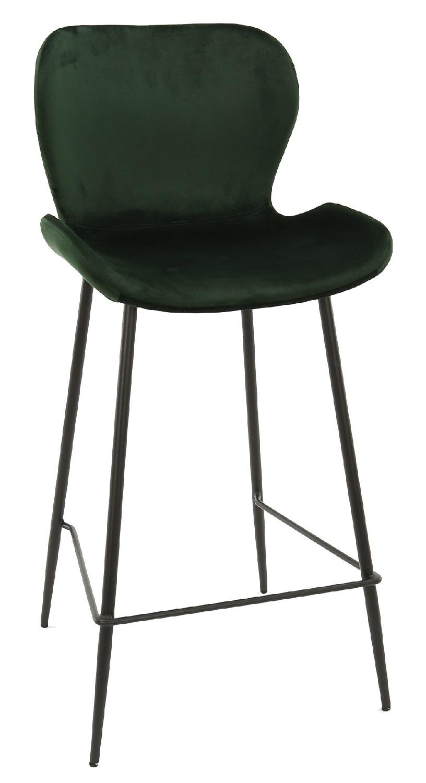 Barstoel Wilson set van 4 stuks in groen