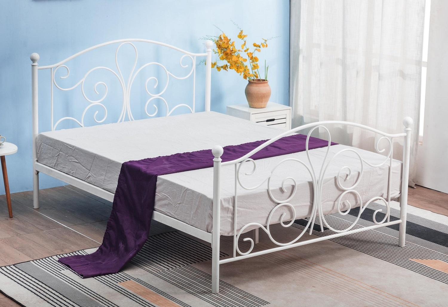 Bed Panama 120x200cm in wit