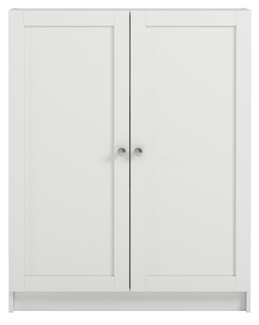 Boekenkast Anette S 100 cm hoog in wit