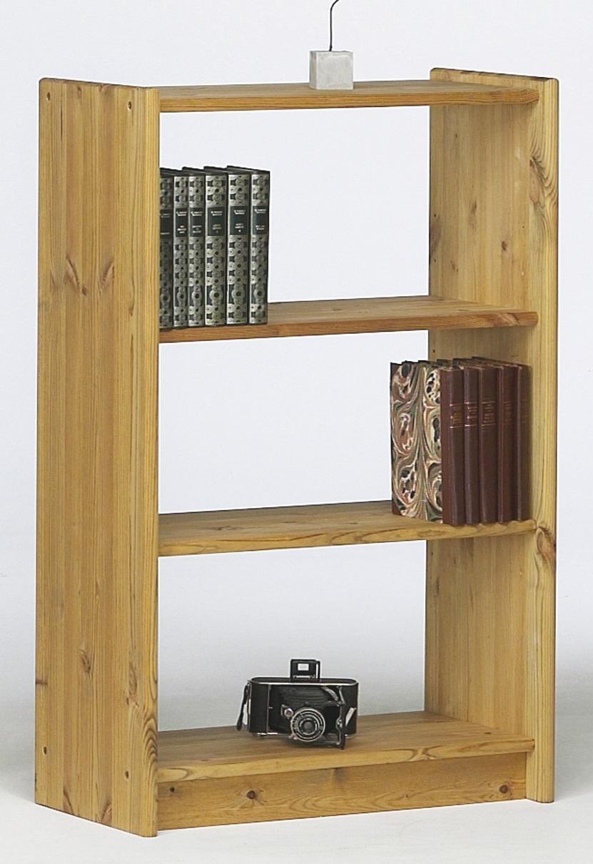 Boekenkast Mario S 100 cm hoog in geolied grenen