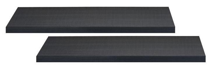 Boekenplanken set Elypse 100 cm breed - Bruin eiken