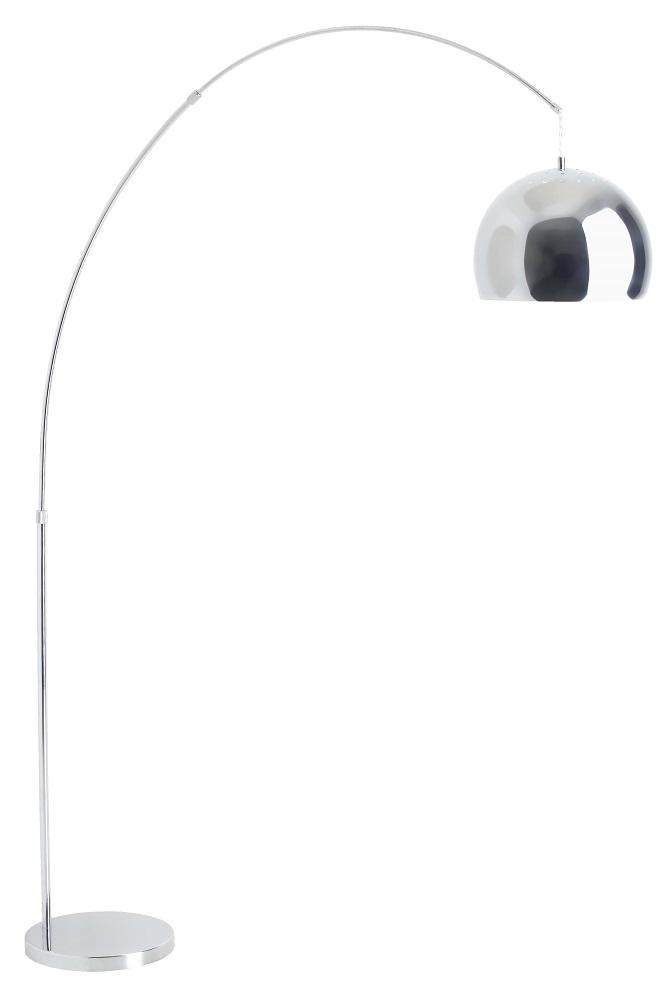 Vloerlamp Nereide 202 cm hoog 1xE27 100Watt in Chroom