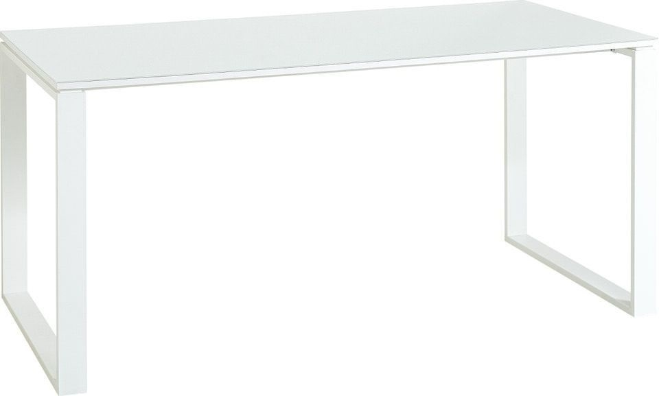 Bureau Monteria van 160 cm breed in wit