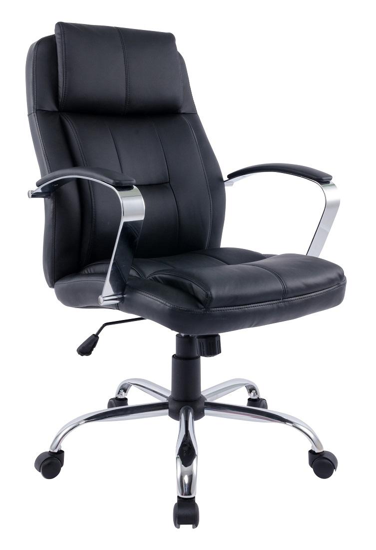 Bureaustoel Chromo – Zwart