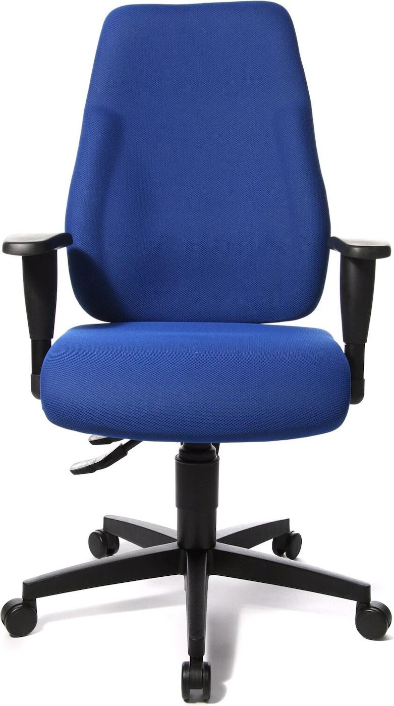Bureaustoel Lady Sitness in blauw