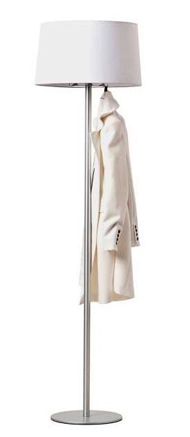 Vloerlamp Coat 187 cm hoog - Wit