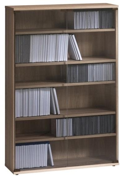 CD DVD kast Maya L - Sonoma eiken