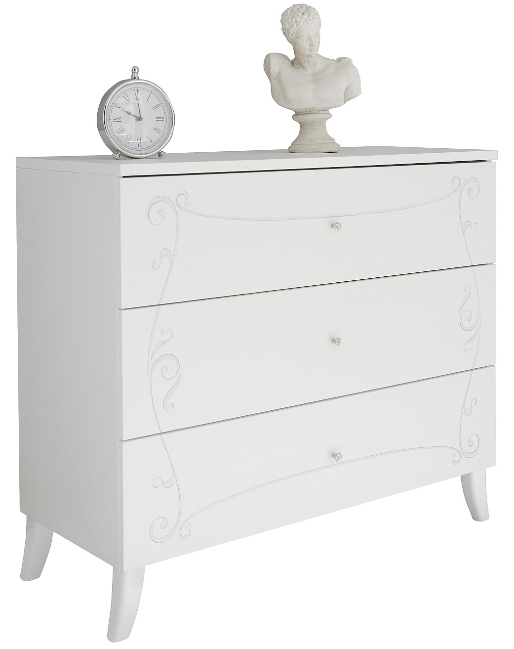 Commode Soler 104 cm breed in mat wit