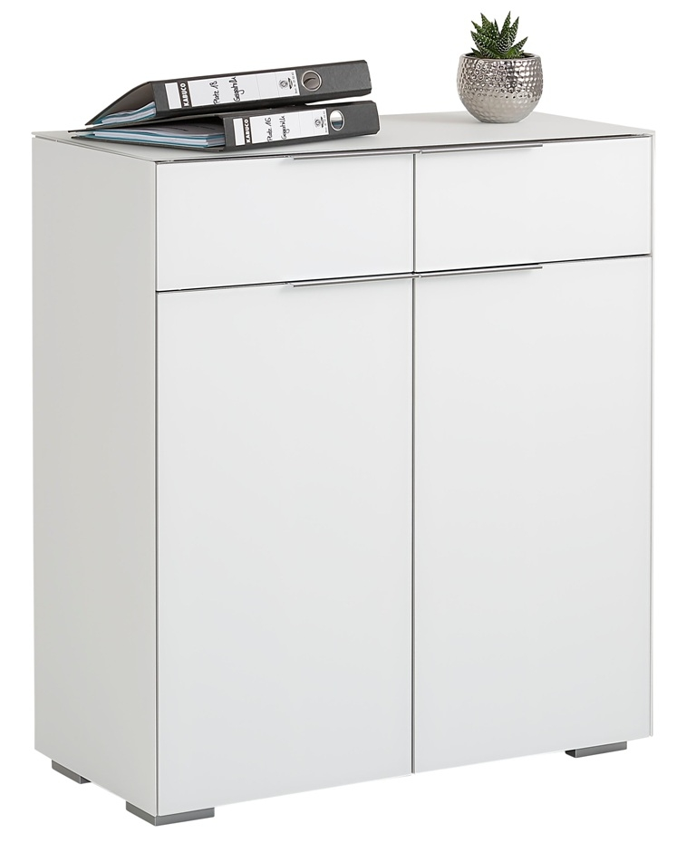 Commode Yas 92 cm hoog - Wit