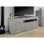 Tv-meubel Urbino 138 cm breed in grijs beton