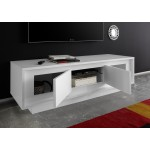 Tv-meubel SKY 156 cm breed - Wit