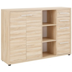 Dressoir Banco 156 cm breed - Eiken