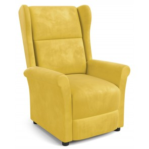 Fauteuil Agustin in geel
