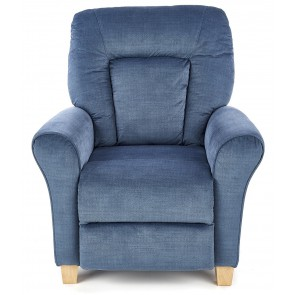 Fauteuil Bard in donkerblauw