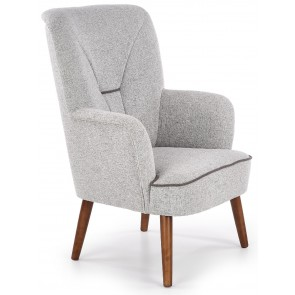 Fauteuil Bishop in grijs