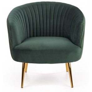 Fauteuil Crown in groen