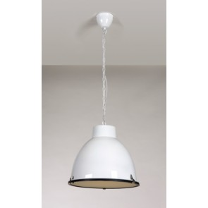 Hanglamp Hanger in glans wit