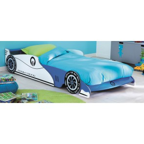 Kinderbed Grand Prix 219 cm breed - Blauw