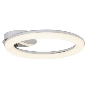 Plafondlamp Donna Led 24W in chroom met wit