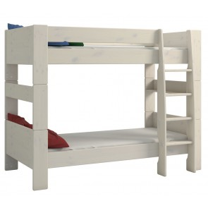 Stapelbed Kids 90x200cm in wit whitewash