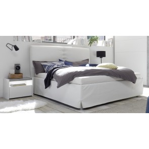Tweepersoonsbed Amalti full 160x200cm in wit