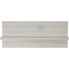 Wandplank Monaco 54 cm breed in wit whitewash