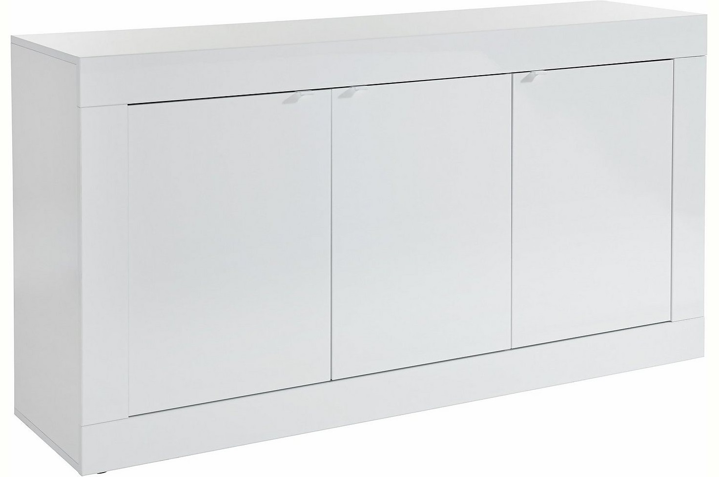 Pesaro Mobilia tv meubel dressoir Tonic 160 cm Hoogglans wit