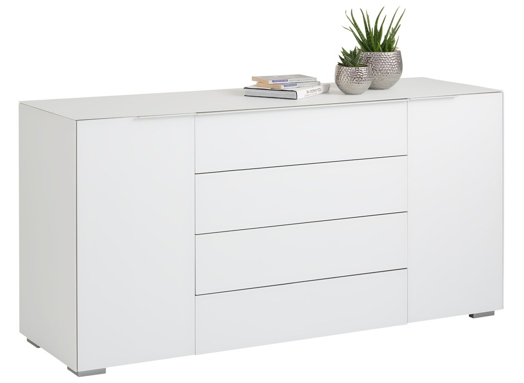 Bermeo tv meubel dressoir Yas 160 cm breed Wit