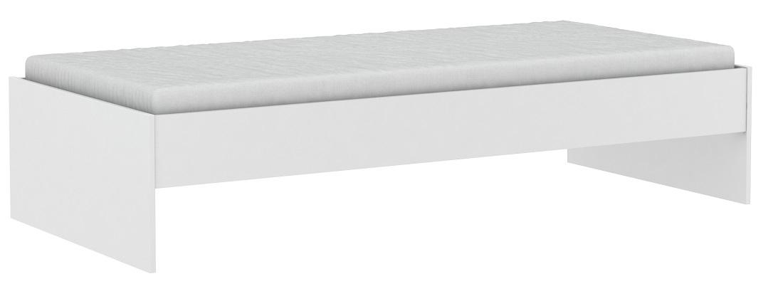 Eenpersoonsbed Tidy 90x200cm - Wit