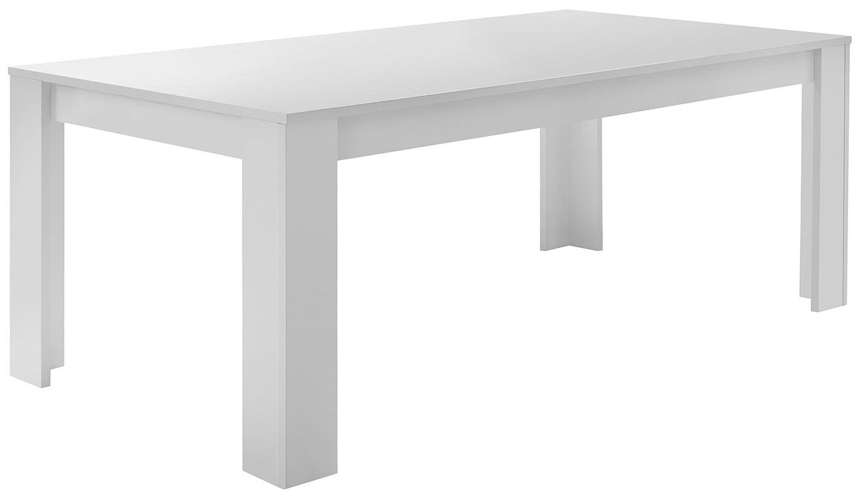 Eettafel SKY 137 cm breed - Wit
