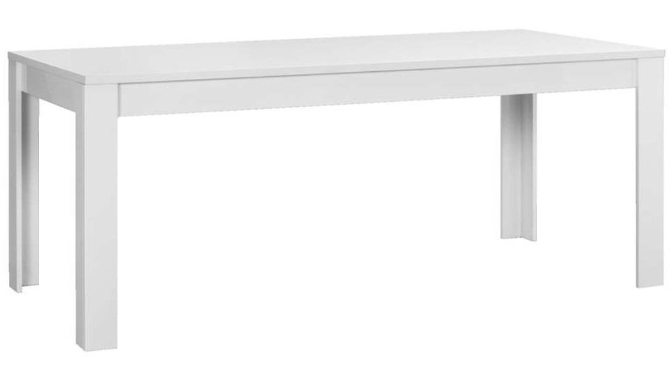 Eettafel Tonic 140 cm breed in hoogglans wit