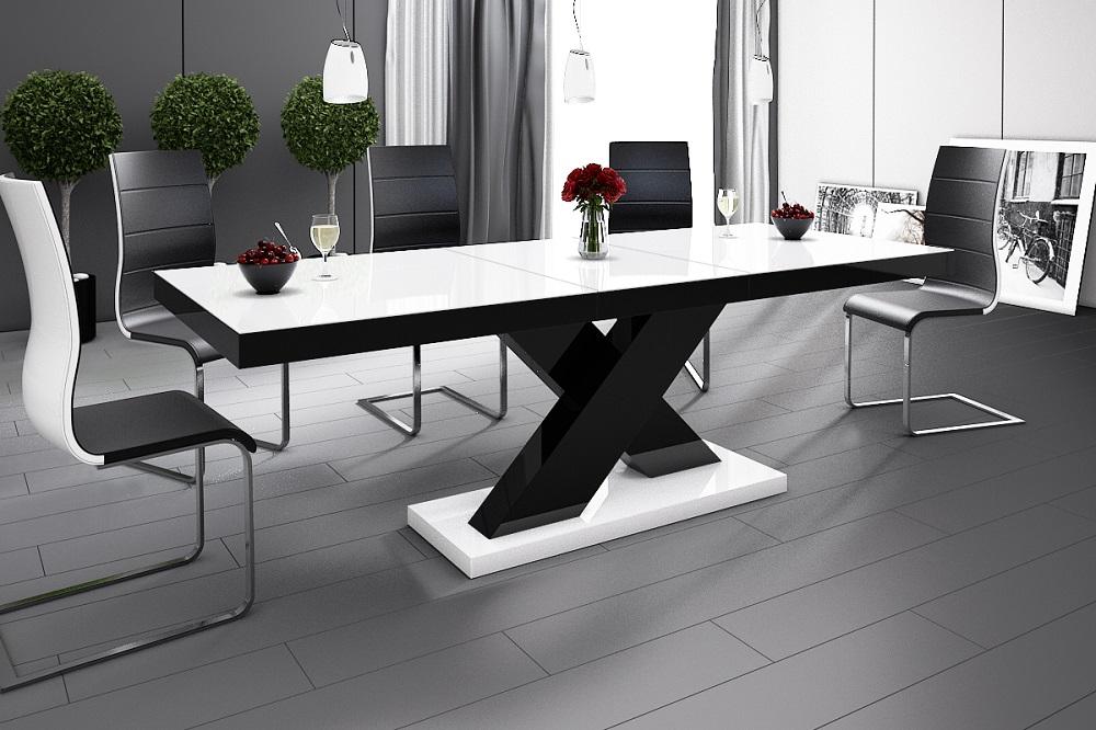 Zwart Wit Hoogglans Eettafel.De Grootste Meubel Outlet Van Nederland Meubel Toppers Nl