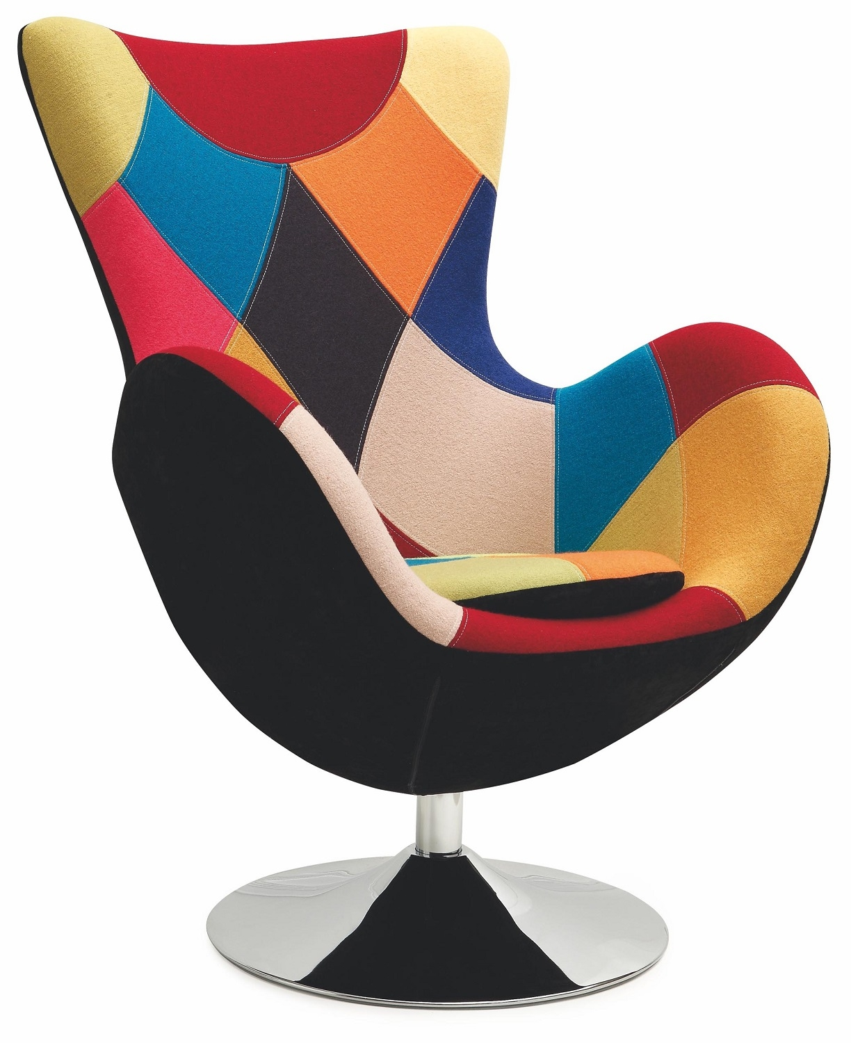 Fauteuil Butterfly in multicolor
