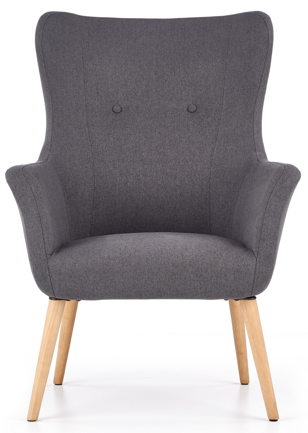 Fauteuil Cotto in donkergrijs