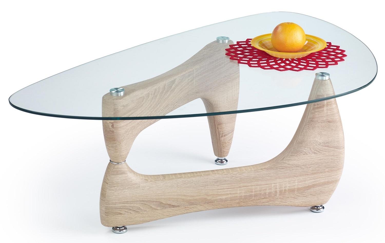 Glazen salontafel Karen 119 cm breed