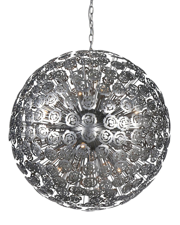 Hanglamp Baccara Silver Brushed