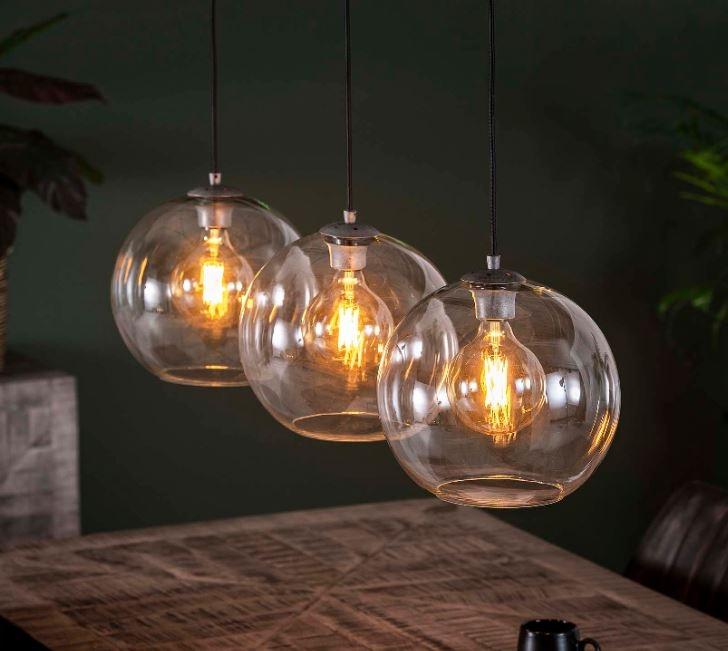 Hanglamp Bolly Trio 150 cm hoog