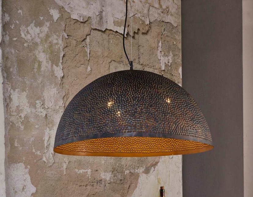Hanglamp Murray 1 kap - Zwart bruin