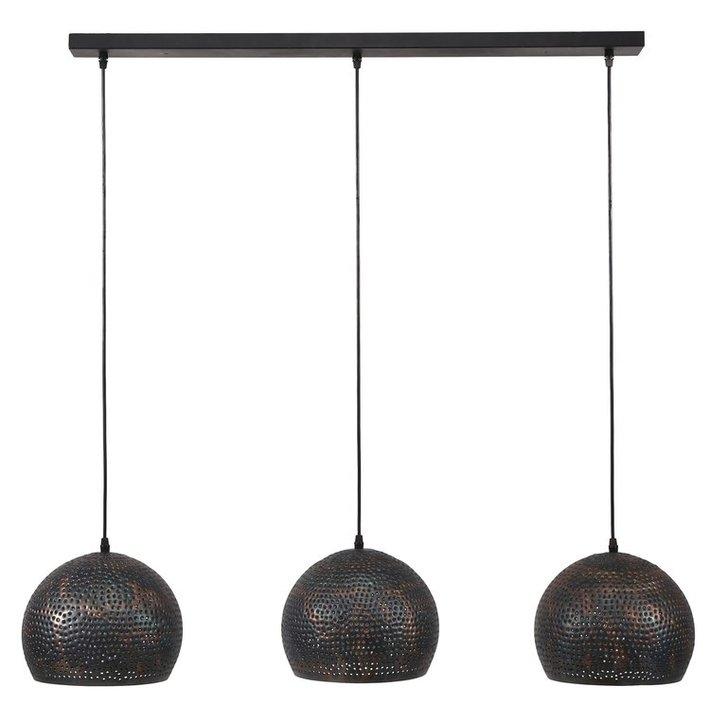 Hanglamp Murray Trio – Zwart bruin kopen