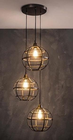 Hanglamp Tatsuya Trio - Koper